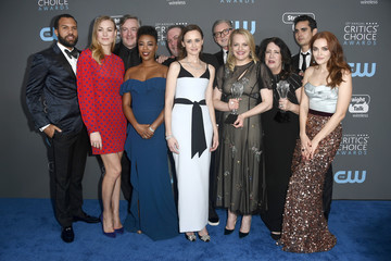 Elisabeth Moss Madeline Brewer The 23rd Annual Critics' Choice Awards - Press Room