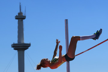 Elisabeth Moss Athletics - Buenos Aires Youth Olympics: Day 9