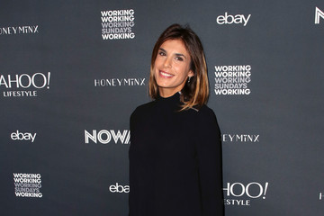 Elisabetta Canalis NowWith Presented By Yahoo Lifestyle In Partnership With Working Sundays Series With Nicole Richie's Honey Minx Collection Reveal