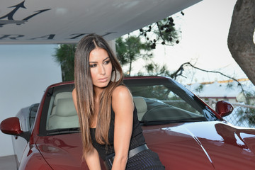 Elisabetta Gregoraci Celebrities At The Terrazza Maserati - Day 6 - The 70th Venice International Film Festival