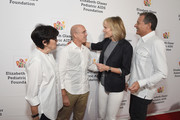 (L-R) Marilyn Katzenberg, Jeffrey Katzenberg, Willow Bay and The Walt Disney Company CEO Bob Iger attend The Elizabeth Glaser Pediatric AIDS Foundation's Annual 'A Time For Heroes' Family Festival at Smashbox Studios at Smashbox Studios on October 28, 2018 in Culver City, California.
