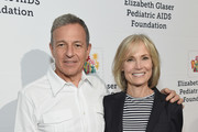 The Walt Disney Company CEO Bob Iger and Willow Bay attend The Elizabeth Glaser Pediatric AIDS Foundation's Annual 'A Time For Heroes' Family Festival at Smashbox Studios at Smashbox Studios on October 28, 2018 in Culver City, California.