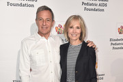 Bob Iger and Willow Bay attend the Elizabeth Glaser Pediatric Aids Foundation's 30th Anniversary, A Time For Heroes Family Festival at Smashbox Studios on October 28, 2018 in Culver City, California.