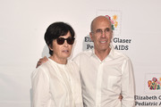 Marilyn Katzenberg and Jeffrey Katzenberg attend the Elizabeth Glaser Pediatric Aids Foundation's 30th Anniversary, A Time For Heroes Family Festival at Smashbox Studios on October 28, 2018 in Culver City, California.