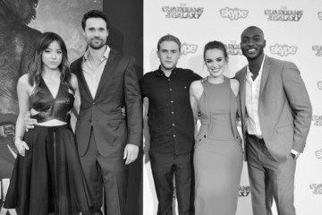 Elizabeth Henstridge 'Guardians of the Galaxy' Premieres in Hollywood — Part 2