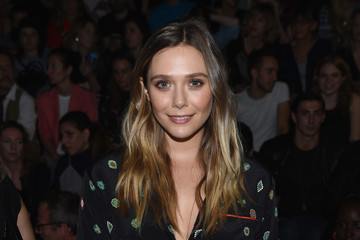 Elizabeth Olsen KENZO x H&M Launch Event Directed by Jean-Paul Goude' - Front Row
