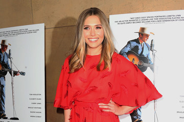 Elizabeth Olsen Premiere of Sony Pictures Classics' 'I Saw the Light' - Arrivals