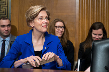 Elizabeth Warren Senate Holds Confirmation Hearing for Alex Michael Azar II to Become Health and Human Services Secretary