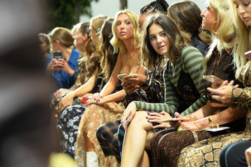Ella Hunt Michael Kors Collection Spring 2020 Runway Show - Front Row