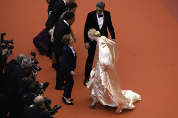 Elle Fanning Alejandro Gonzalez 'The Dead Don't Die' & Opening Ceremony Red Carpet - The 72nd Annual Cannes Film Festival