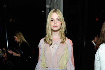 Elle Fanning Eighth Annual Women In Film Pre-Oscar Cocktail Party Presented By MaxMara, BMW, Tiffany & Co., MAC Cosmetics And Perrier-Jouet - Inside