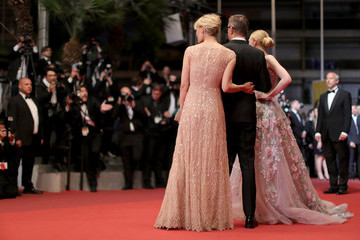 Elle Fanning Nicolas Winding Refn 'The Neon Demon'- Red Carpet Arrivals - The 69th Annual Cannes Film Festival