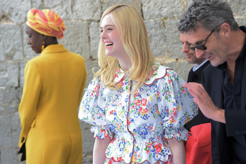 Elle Fanning Mayor's Lunch - The 72nd Annual Cannes Film Festival