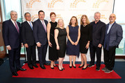 Dr. George Todd, Joel Forman, Edward Sweeney, Eileen Naughton, Nelly Bly-Arougheti, Ellen R. Alemany, Theresa Hamlin, Aidan Quinn and Patrick H. Dollard attend The Center for Discovery's 23rd annual Evening of Discovery Gala on May 01, 2019 in New York City.