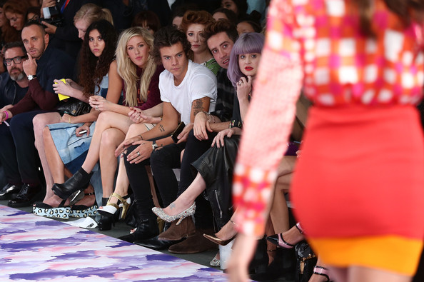 Ellie Goulding Harry Styles Photos - House Of Holland ...