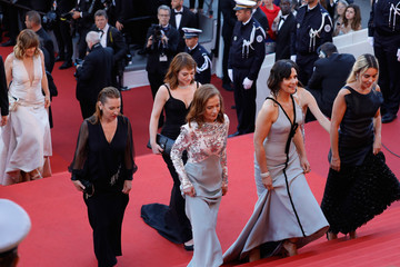 Elodie Bouchez 70th Anniversary Red Carpet Arrivals - The 70th Annual Cannes Film Festival