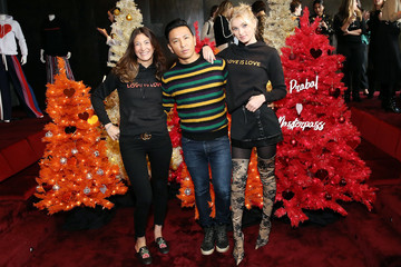 Elsa Hosk Prabal Gurung & Mastercard Celebrate the Love Is Love Collection