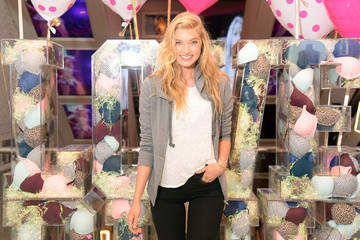 Elsa Hosk Victoria's Secret PINK Launches a New Bra