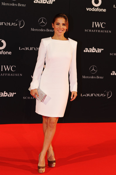 Elsa Pataky Actress Elsa Pataky arrives for the Laureus Welcome Party as part of the 2011 Laureus World Sports Awards at Cipriani Yas Island on February 6, 2011 in Abu Dhabi, United Arab Emirates.