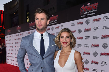 Elsa Pataky World Premiere of Marvel's 'Avengers: Age Of Ultron' - Red Carpet