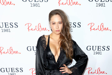 Elsie Hewitt GUESS 1981 Men's Fragrance Launch hosted by RedOne
