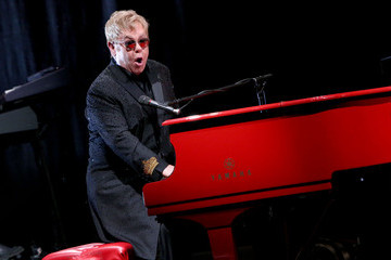 """Elton John Elton John Performs And Answers Questions From Fans During SiriusXM's """"Town Hall with Elton John"""" At The Wiltern In Los Angeles Celebrating The Upcoming Release Of His New Album """"Wonderful Crazy Night"""""""