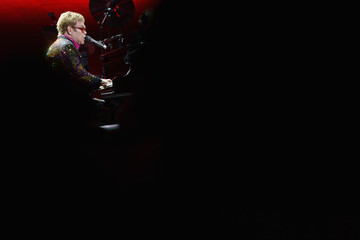 Elton John Elton John Performs in NYC