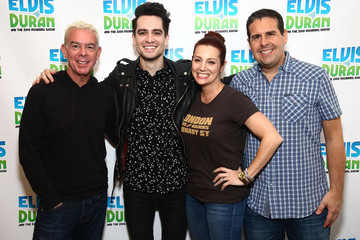 Elvis Duran Brendon Urie of Panic! at the Disco Visits 'The Elvis Duran Z100 Morning Show'