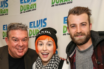 Elvis Duran Paramore Visits a Radio Morning Show