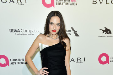 Emanuela Postacchini 26th Annual Elton John AIDS Foundation's Academy Awards Viewing Party - Arrivals