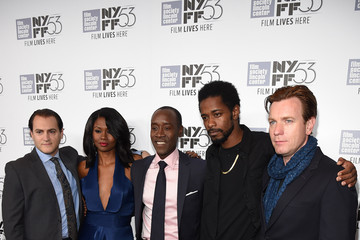 Emayatzy Corinealdi  Keith Stanfield Closing Night of the 53rd New York Film Festival Featuring Miles Ahead