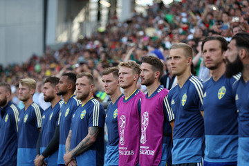 Emil Krafth Mexico Vs. Sweden: Group F - 2018 FIFA World Cup Russia