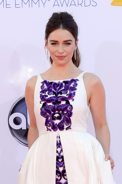 Emilia Clarke - 64th Annual Primetime Emmy Awards - Arrivals