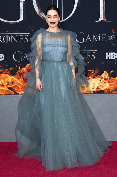 Emilia Clarke's Subtle Red Carpet Nod to Danerys Will Give You All The Feels