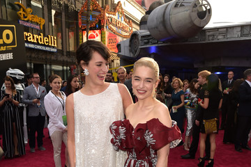 Emilia Clarke Phoebe Waller-Bridge Premiere Of Disney Pictures And Lucasfilm's 'Solo: A Star Wars Story' - Red Carpet