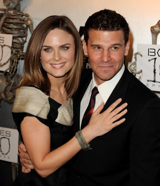 Are david boreanaz and emily deschanel dating in real life