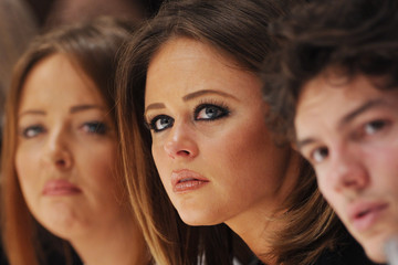 Emily Atack Day 5 - Front Row - LFW FW15