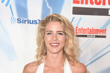Emily Bett Rickards SiriusXM's Entertainment Weekly Radio Channel Broadcasts From Comic Con 2017 - Day 3