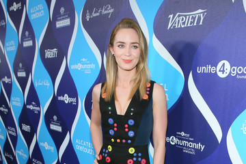 Emily Blunt 2nd Annual unite4:humanity Presented By ALCATEL ONETOUCH - Red Carpet
