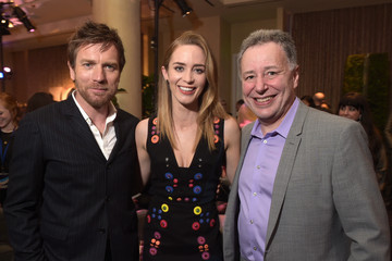 Emily Blunt Ewan McGregor 2nd Annual unite4:humanity Presented By ALCATEL ONETOUCH - VIP Greenroom