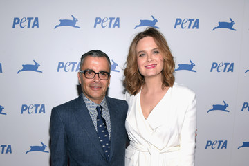 Emily Deschanel PETA's 35th Anniversary Party - Red Carpet