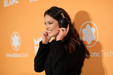 Emily DiDonato Montblanc Celebrates The Launch Of MB 01 Headphones & Summit 2+ With NYC Event