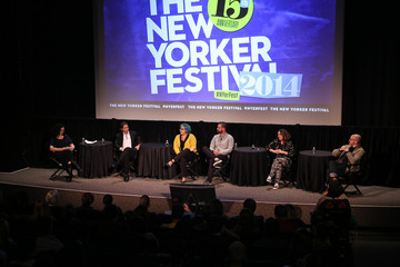 Emily Nussbaum The New Yorker Festival 2014 - LGBTQ TV: Brad Falchuk, Jenji Kohan, Michael Lannan, Peter Paige, and Jill Soloway Moderated by Emily Nussbaum