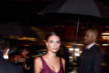Emily Ratajkowski 'Manus x Machina: Fashion in an Age of Technology' Costume Institute Gala - After Parties