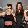 Emily Ratajkowski Model, Actress And Entrepreneur, Emily Ratajkowski, Attends STRONG By Zumba High-Intensity Workout Class With Fitness Superstar And SBZ Master Trainer, Michelle Lewin, In New York City