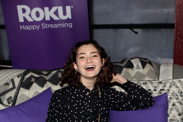 Emily Robinson Rock & Reilly's Daytime Lounge Presented by J.Crew, NYLON and Roku - Day 2