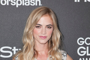 Emily Wickersham Golden Globe Awards Season Celebration in Hollywood