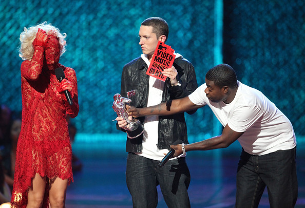 eminem lady gaga. Eminem and Lady Gaga - 2009