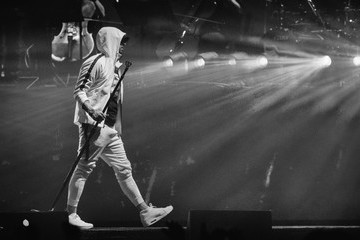 Eminem 2018 Coachella Valley Music And Arts Festival - Weekend 1 - Day 3