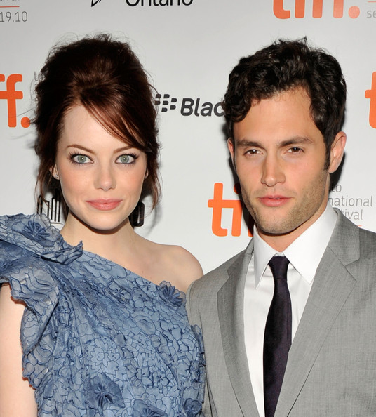 "Emma Stone and Penn Badgley - ""Easy A"" Premiere - 2010 Toronto International"